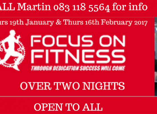 Focus on Fitness Sports Performance Workshop