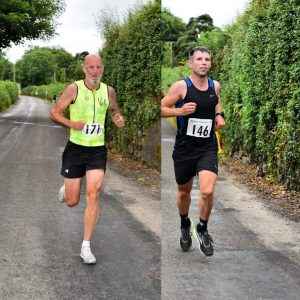 Jason Travers and Shane Power Focus on Fitness Ballymacarbery 5 mile