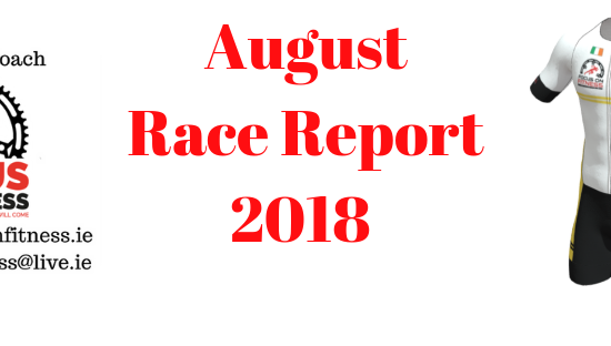 Focus on Fitness Race Report August 2018
