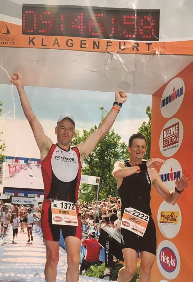 Ironman Austria Martin Kirwan